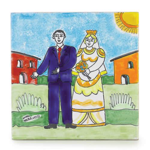 Parrucca Square Tile - Wedding