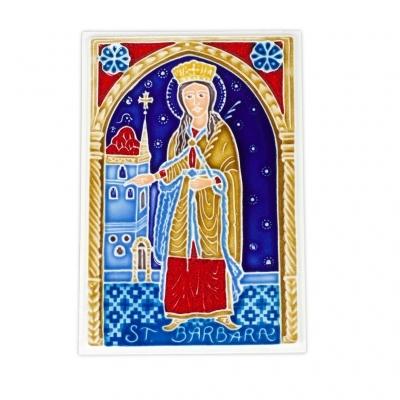 St. Barbara Tile