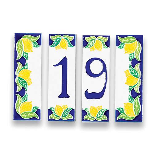 Address tile - #s