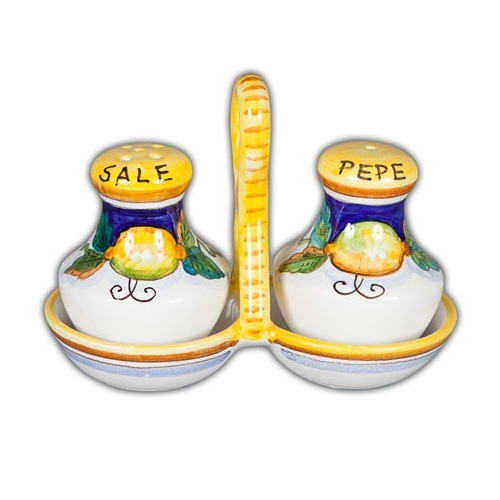 Daphne Salt and Pepper with Tray