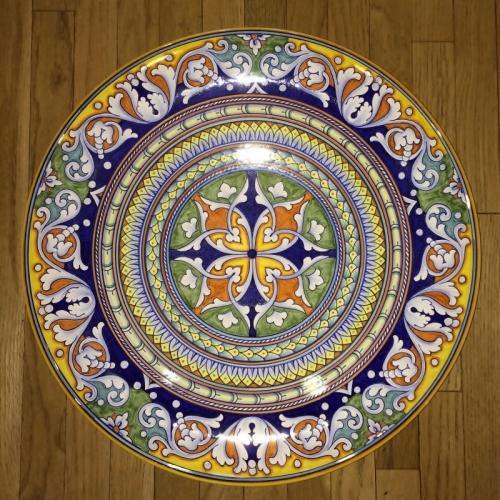Geometrico Ornato Large Decorative Platter