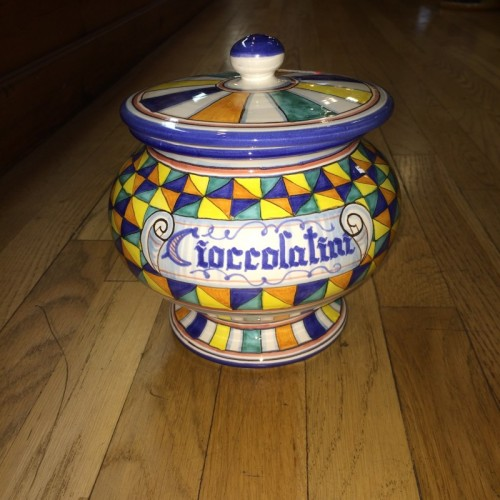 Chocolate Jar with Lid