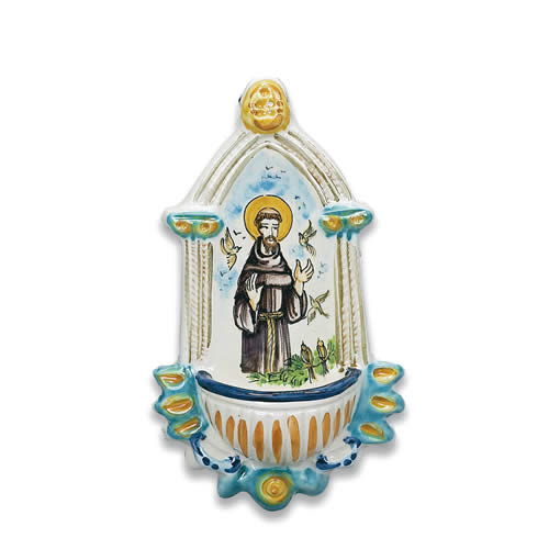 St. Francis Holywater Font