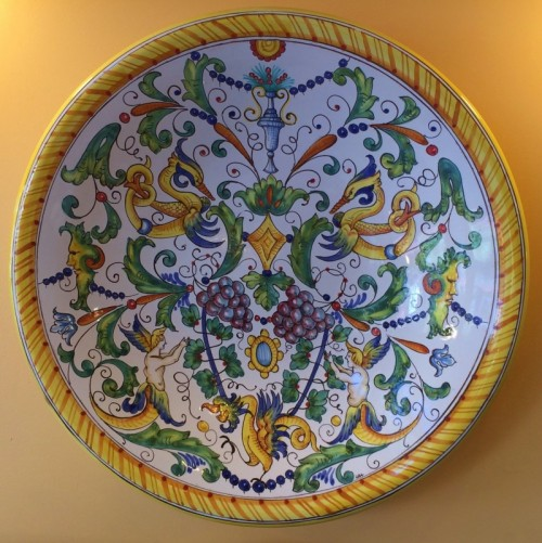 Tuscan  Mythical Figures Platter