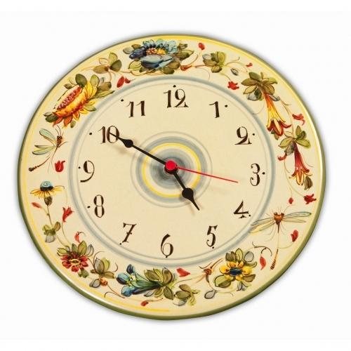 Toscana Fiori Clock