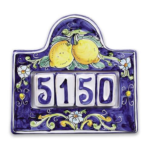 house number plaque for four 1. Black Bedroom Furniture Sets. Home Design Ideas