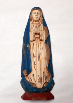 Our Lady of Guadalupe Wooden Saint